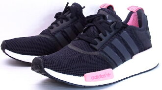 and adidas NMD RNR W Black adidas n m d Womens ladies black pink black  Kanye West KANYE WEST yeezy S75235 7fbc975c54