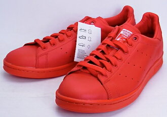 adidas PW Stan smith PHARRELL WILLIAMS RED愛迪達Pharrell Williams Stan Smith