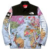 2014SS Supreme×THE NORTH FACE Map Expedition Coaches Jacket shupurimunosufeisuekusupedishonkochijaketto