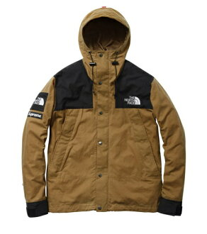 Supreme×THE NORTH FACE Waxed Cotton Parka JACKET DUCK Brown