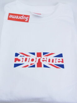 SUPREME UNION JACK BOX Tee LONDON