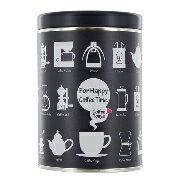 TONYAデザイン 保存缶 For Happy Coffee Time【ネイビー缶】】※つや消しフタ