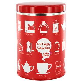 TONYAデザイン 保存缶 For Happy Coffee Time 【赤缶】