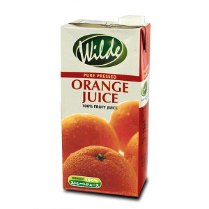 砂糖無添加・水を一滴も加えていない Wild ワイルド オレンジジュース 1000ml(1本)