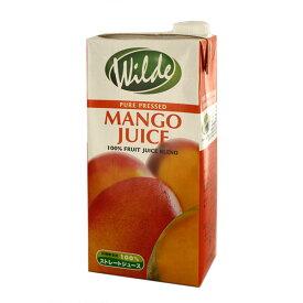 砂糖・水無添加 ワイルド マンゴージュース テトラ 1L