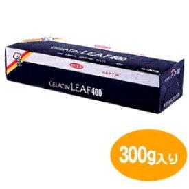 [取寄品/日付指定不可] ゼリエース ゼラチンリーフ400 (300g)