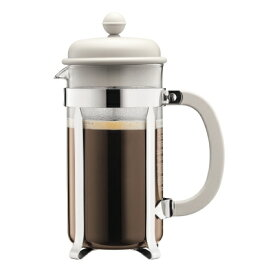 ボダム CAFFETTIERA フレンチプレス コーヒーメーカー 0.35L オフホワイト WH 1913-913