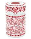 茶缶・デュール ロイヤルレッド(容量150g)