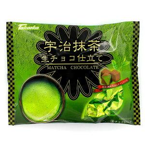 冬季限定 高岡食品 宇治抹茶 生チョコ仕立て 145g