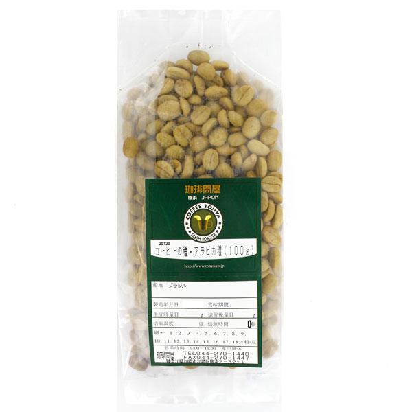 コーヒーの発芽用種子 100g (ブラジル)