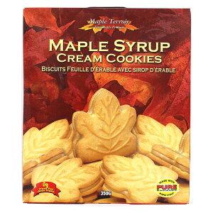テロワール メープルシロップ クリームクッキー 350g