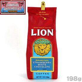 ライオンコーヒー ストロベリー ホワイトチョコレート (198g)