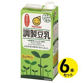 マルサンアイ 調製豆乳 (1L×6本)