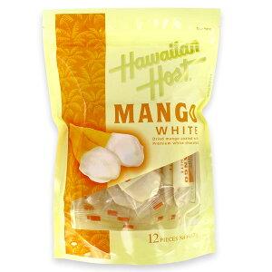 ハワイアンホースト ドライマンゴーホワイトチョコレート (120g)12個入り