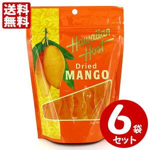 ハワイアンホースト ドライマンゴー 100g×6袋セット 送料無料