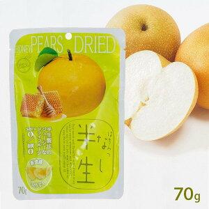 半生フルーツ はちみつなし 70g しっとり食感 梨ドライフルーツ