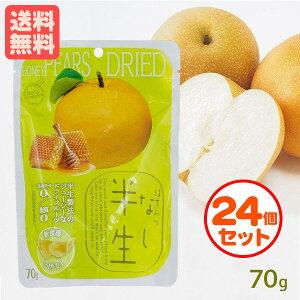 半生フルーツ はちみつなし 24個セット 70g×24 しっとり食感 ドライフルーツ まとめ割引 送料無料