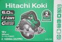 日立工機[HITACHI KOKI]18V-6.0Ahコードレス丸のこ C18DBAL(2LYPK)