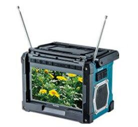マキタ 充電式ラジオ付テレビ TV100本体のみ 10.8V〜18V