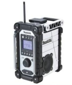 マキタ 充電式ラジオ MR107W 白バッテリ・充電器別売