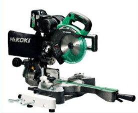 HiKOKI コードレス卓上スライド丸のこ C3607DRA(NN)36V-2.5Ah 190mm
