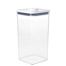 ●∞【最新モデル】 OXO オクソー ポップコンテナ2 POP2 ビッグスクエア トール (フタタイプ:A) 11233400 保存容器 【米びつ 重ねて保管 キッチン おしゃれ インスタ映え 人気 ギフト プレゼントとして】