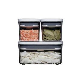 ●∞【最新モデル】 OXO オクソー ポップコンテナ2 POP2 スターター 3ピースセット 11241300 保存容器 【キッチン おしゃれ インスタ映え 人気 ギフト プレゼントとして】