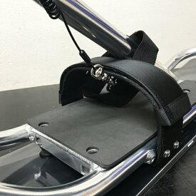 スノースクート パーツ シンプルフィットフットストラップ左右ペア ボルト付き