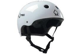 PRO-TEC プロテック ヘルメット CLASSIC SKATE クラシックスケート ホワイト【BMX】【スケート】【スノースクート】
