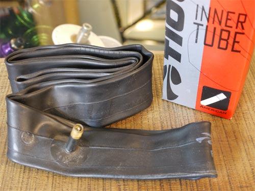 TIOGA タイオガ インナーチューブ 16×1.75-2.125 アメリカンバルブ【BMX】【米式】【キッズ】