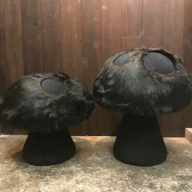 mushroom chair handmade by yanyan japan ヤンヤンデザインワークス ハンドメイドキノコ椅子オールブラック 足利 デザイン1