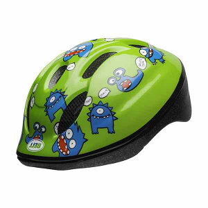 BELL ベル キッズ・子供用ヘルメット ZOOM2 ズーム2 グリーンファートモンスター【ストライダー】【自転車のチャイルドシートにも】【超軽量205g】【頭グラグラしない】【ヨーロッパ安全規格