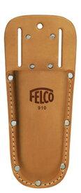 【 FELCO(フェルコ)剪定鋏用レザーホルダーFELCO No,910】革製ハサミケース ホルスター 剪定鋏ケース シザーケース