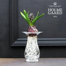 (本国生産終了決定で在庫限り)HOLMEGAARD(ホルムガード)Old English【Hyacinth Vase 14cm】(オールドイングリッシュ ヒヤシンスベース) 花瓶 フラワーベース 花器 北欧 ノルディック インテリア プレゼント ギフト包装可能(2020冬ギフト)