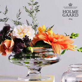 HOLMEGAARD(ホルムガード)Old English「Flower Bowl」直径13cm オールドイングリッシュ フラワーボウル 花瓶 フラワーベース 花器 北欧 ノルディック インテリア ギフト プレゼント