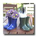 【直輸入・正規品】英国(イギリス)製 テラコッタ製「Wellies Vase」(8月入荷WM)