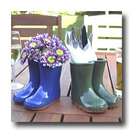 「Wellies Vase」