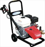 スーパー工業 エンジン式高圧洗浄機SEC1015−2N(コンパクト&カート型) SEC10152N