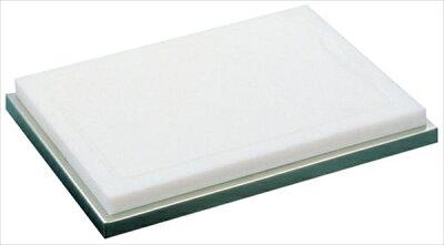 三宝産業UKプラスチック製カッティングボード(18−8台付)6-1566-2001NKT01