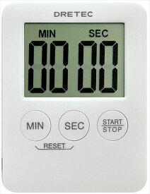 ドリテック デジタルタイマー ポケッティー T−307WT(ホワイト) BTIA301 [7-0572-0801]