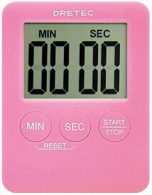 ドリテック デジタルタイマー ポケッティー T−307PK(ピンク) BTIA302 [7-0572-0802]