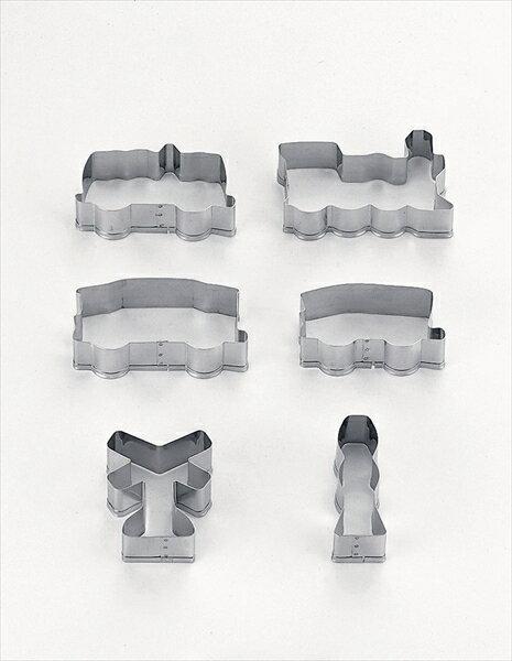タイガークラウン 18−8クッキー抜型 連結汽車ポッポ 2001 No.6-0998-2401 WNK8201