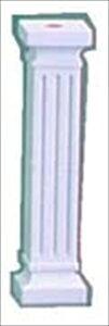 直送品■ウェディングケーキ樹脂製ピラー Bタイプ[FB912][8-1710-0201] NPL08
