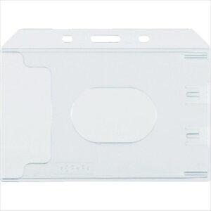トラスコ中山(株) TRUSCO オレンジブック ハード名札ケース 名刺サイズ 10枚入 [ TNH47 ]