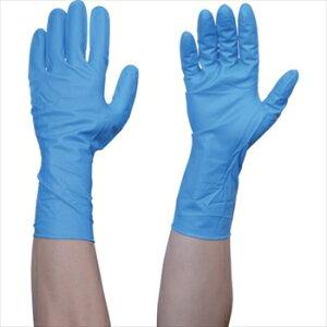 トラスコ中山(株) TRUSCO オレンジブック 使い捨てニトリル手袋TGストロング 0.26 粉無青M 50枚 [ TGNN26BM ]