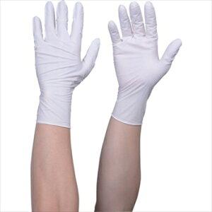 トラスコ中山(株) TRUSCO オレンジブック 使い捨てニトリル手袋TGワーク 0.10 粉付白L 100枚 [ TGPN10WL ]