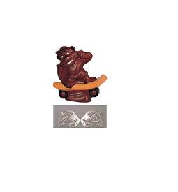 デコ・レリーフ デコレリーフ チョコレートモルド ゴリラ     EU−562 WTY74 [7-0989-0601]