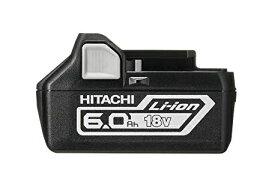 HiKOKI[ 日立工機 (hitachi) ] 【2年保証!!純正/新品/箱なし】 高容量!18V 6.0Ah Li-Ion バッテリー リチウムイオン 電池 BSL1860