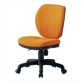直送品■ オフィスチェア(回転椅子)FST−77 オレンジ UTEL701 [7-2398-0101]