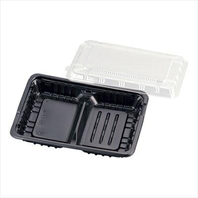 FM弁当容器透明蓋付(20セット入)中D7-1471-0201xbv0601